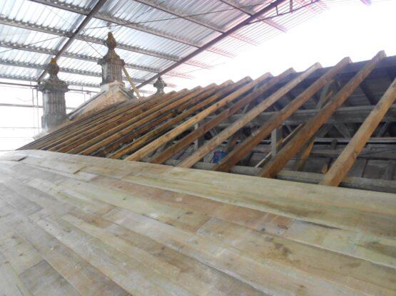 Recuperação de Coberturas Convento de Cristo - Tomar