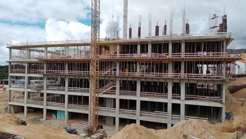 Construção Unidade Saúde Leiria - Fase 1