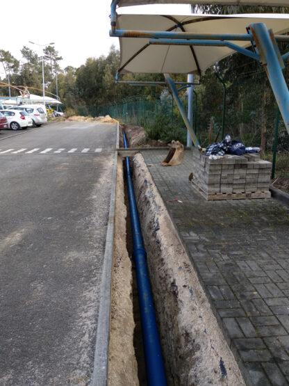 Várias obras Fabrica ROCA - Leiria